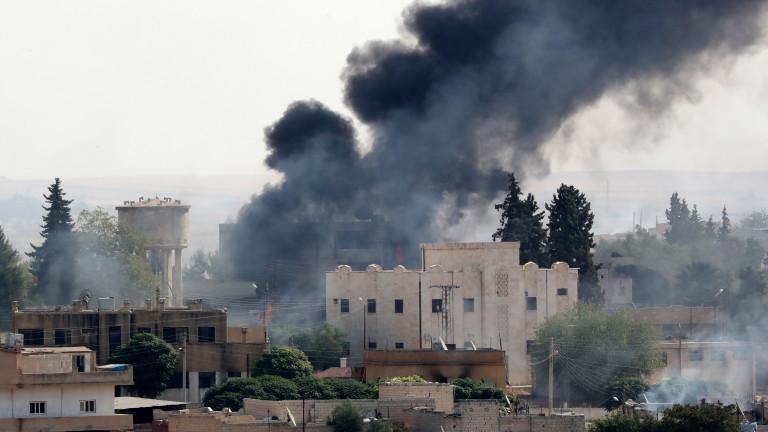 Сирийската армия е навлязла в град Табка в провинция Ракка,