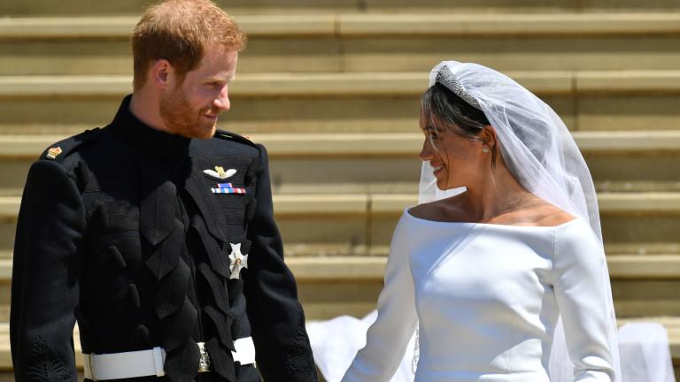 Принц Хари и Меган Маркъл са законни съпруг и съпруга
