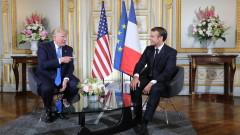 Макрон и Тръмп няма да започват митническа война, примирие за дигиталния данък на Франция