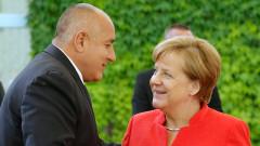 Меркел обеща на Борисов подкрепа за председателството