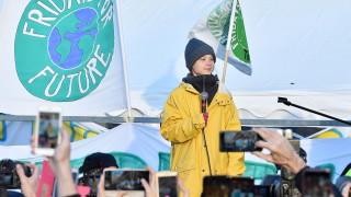 Грета Тунберг се завърна в Стокхолм след близо 5 месеца обикаляне по света