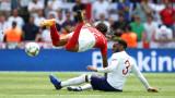 Швейцария - Англия 0:0, дузпи ще определят крайния победител