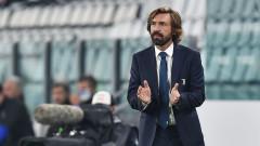 Ювентус уволнява Пирло, ако не постигне победа срещу Наполи