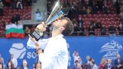 Григор Димитров се похвали в социалните мрежи с втория си трофей за тази година