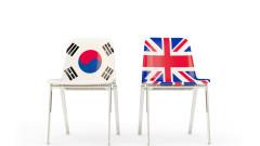 Южна Корея подписа споразумение с Великобритания за свободна търговия