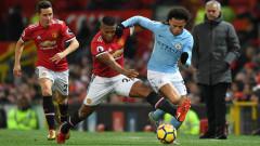 Време е за голямото дерби на Англия: Манчестър Юнайтед - Манчестър Сити (Развой на срещата по минути)