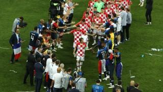 В Хърватия посрещнаха играчите като шампиони (ВИДЕО)