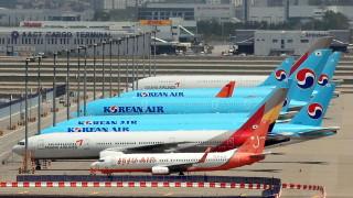 Южнокорейските авиолинии от юни възстановяват международните полети