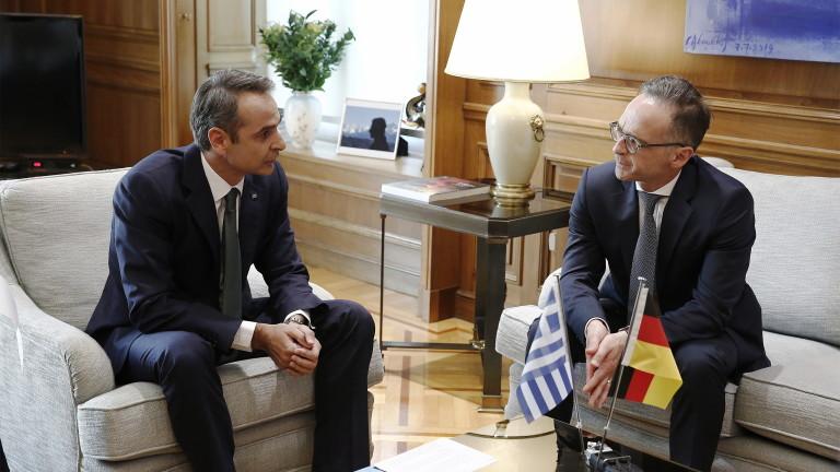 """Германия смъмри Турция, настоя да спре """"провокациите"""" в Източното Средиземноморие"""