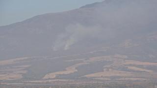 Пожар пламна в Рила