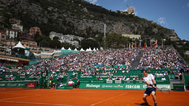 Страхотни гледки и тенис от най-високо ниво ни предлага турнирът в Монте Карло