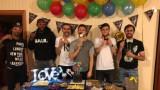 Футболисти на ЦСКА празнуват след загубата от Лудогорец (СНИМКИ)