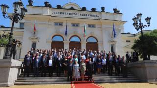 Депутатите от ГЕРБ и ИТН не се включиха в общата снимка за 46-ото НС