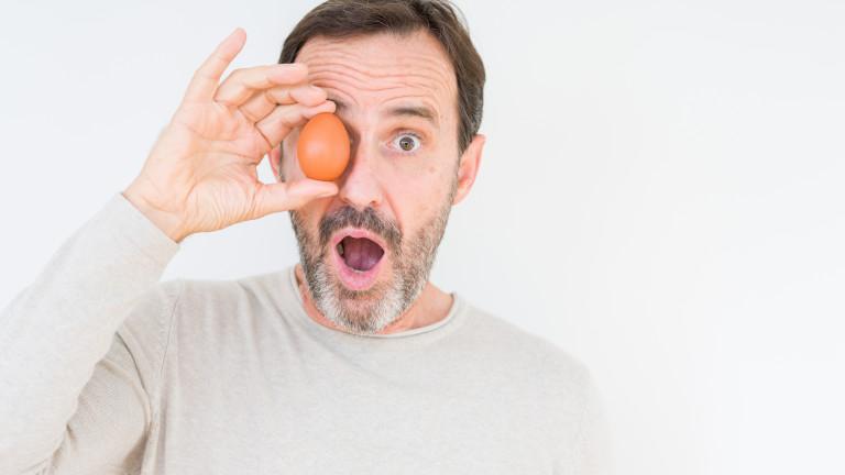 Ето защо мъжете трябва да ядат повече яйца
