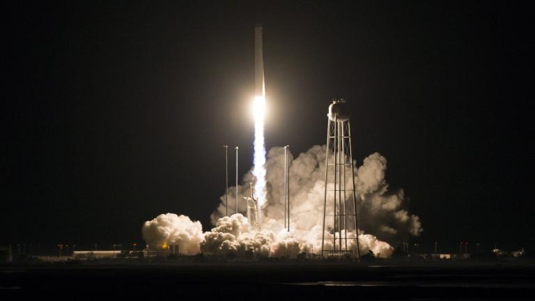САЩ изпратиха безпилотен товарен кораб Cygnus към Международната космическа станция