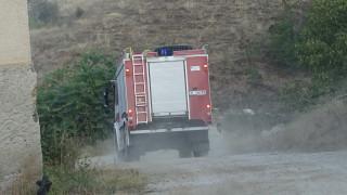 Пожарът край Благоевград е локализиран и овладян