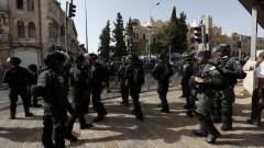 """Експлозии в Йерусалим след съобщения за ракетен обстрел от """"Хамас"""""""
