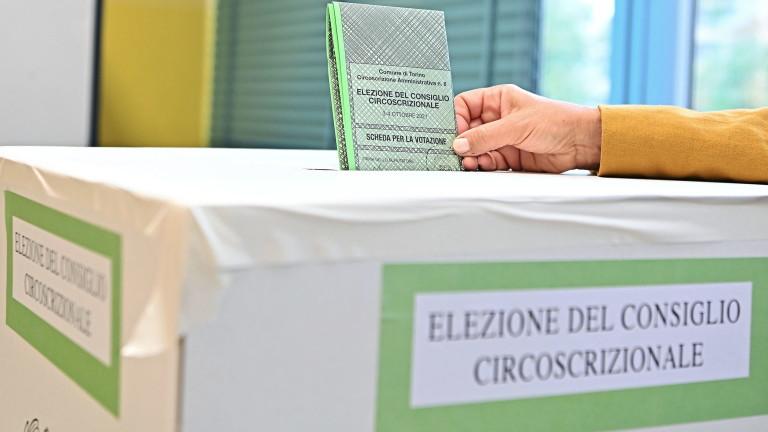 В Италиягласуват на втория тур на местните избори. Италианцитеса призовани
