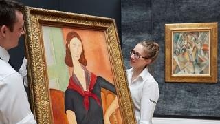 На търг в Лондон бе подадена най-скъпата картина