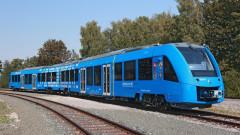 Първият водороден пътнически влак тръгна по релсите в Европа