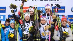 Норвегия затвърди доминацията си в дамската щафета, българките бяха затворени с обиколка