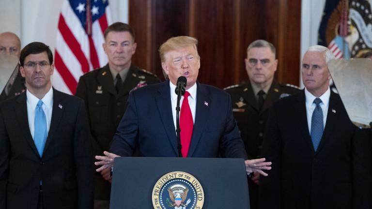 Иран се сдържа, но ние ги удряме с нови санкции, обяви Тръмп