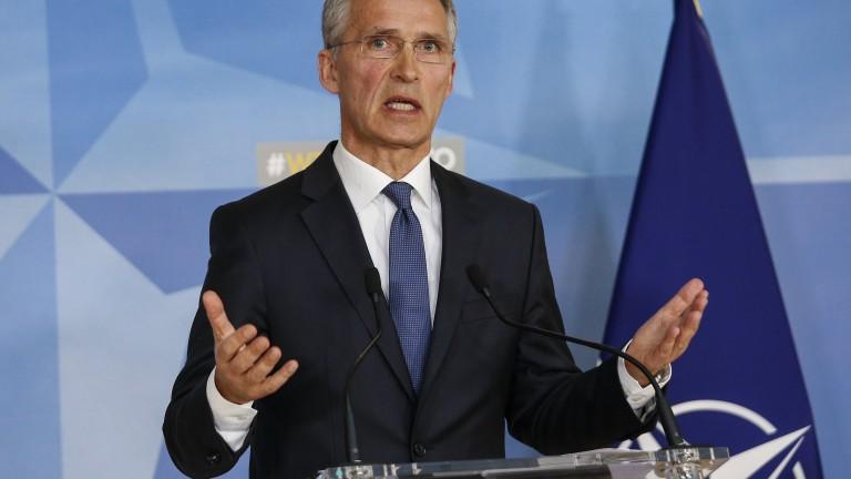 НАТО подкрепи ударите срещу Асад