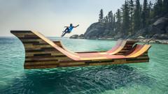 Да караш скейтборд над водата