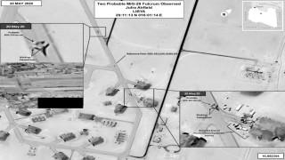 САЩ: Пребоядисани руски изтребители са доставени на Хафтар