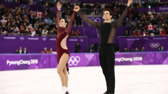 Теса Върчу и Скот Мойр потвърдиха доминацията си в танцовите двойки