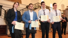 Четирима гимназисти представят България на Европейския конкурс EUCYS