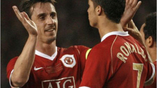 Невил: Роналдо ще остане