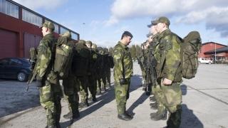 Швеция връща задължителната военна служба?