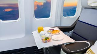 Защо да не ядем нищо по време на полет