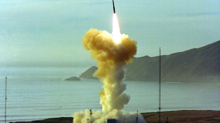 Резултат с изображение за междуконтинентална балистична ракета.