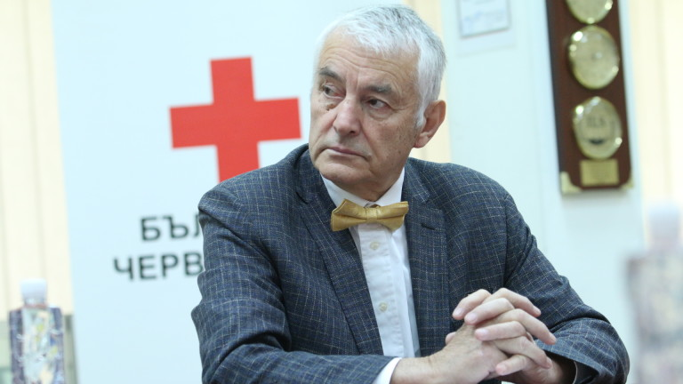 Председателят на Българския червен кръст (БЧК) Христо Григоров настоя правителството