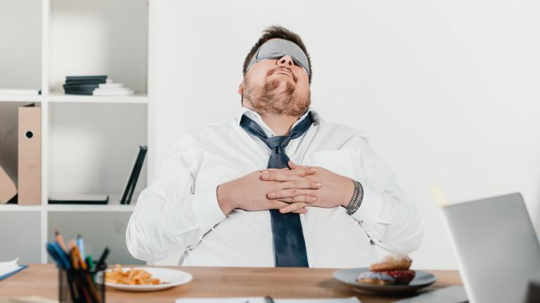 Сънната апнея е състояние, при което човек внезапно спира да