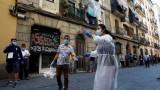 155% увеличена смъртност отчита Испания в първата седмица на епидемията през април