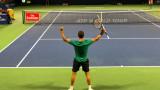 Григор Димитров победи Фернандо Вердаско с 4:6, 6:2, 7:6 (5)
