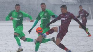 Хебър удари Септември в снега в София