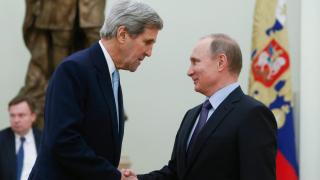Кери се среща с Путин в Кремъл в четвъртък