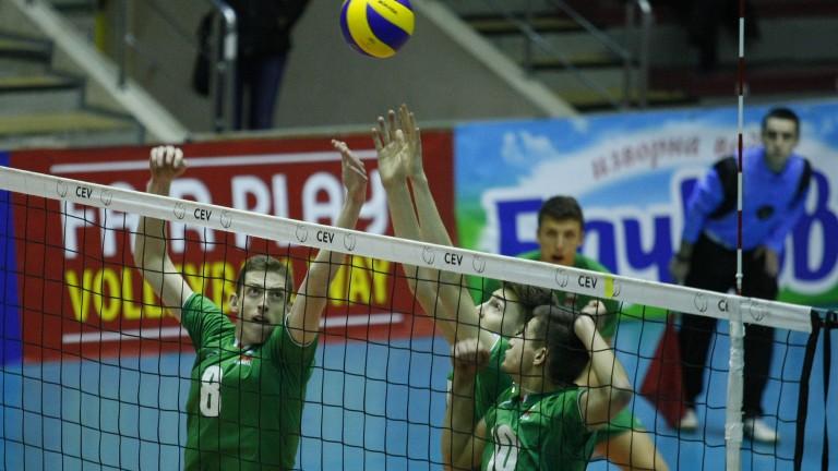 Българският национален отбор по волейбол за юноши до 18 години