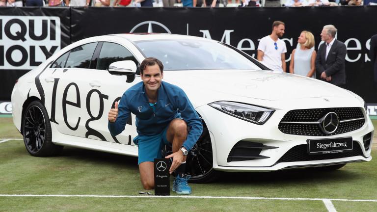 Роджър Федерер с 98-а титла в професионалната си кариера