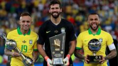 Меси вън от идеалния отбор на Копа Америка, петима от Бразилия са сред избраниците
