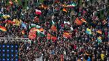 Около 10 000 души в антиислямски митинг в Дрезден