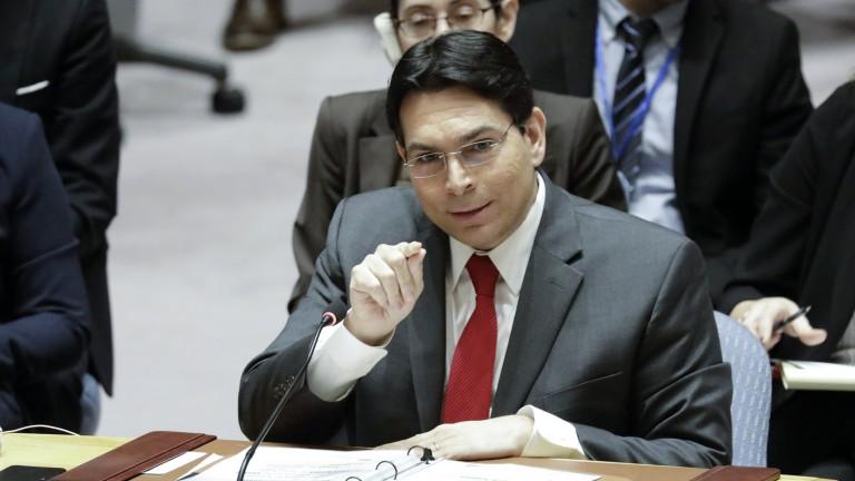 Посланикът на Израел в ООН съобщи, че Иран поддържа най-малко