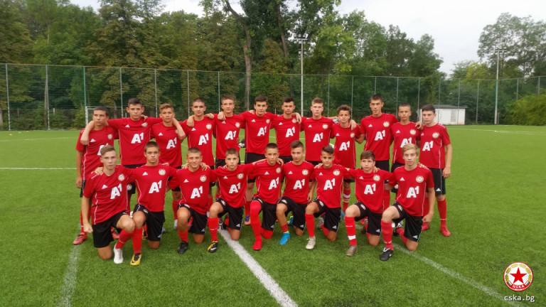 Юношите на ЦСКА, родени през 2004 година, ще премерят сили
