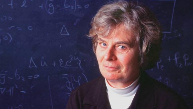 Професор Карен Уленбек от Тексаския университет в Остин, САЩ печелиедна