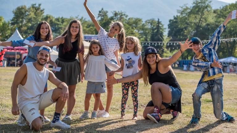 30 000 души се забавляваха на първото издание на SOFIA SPARK FEST