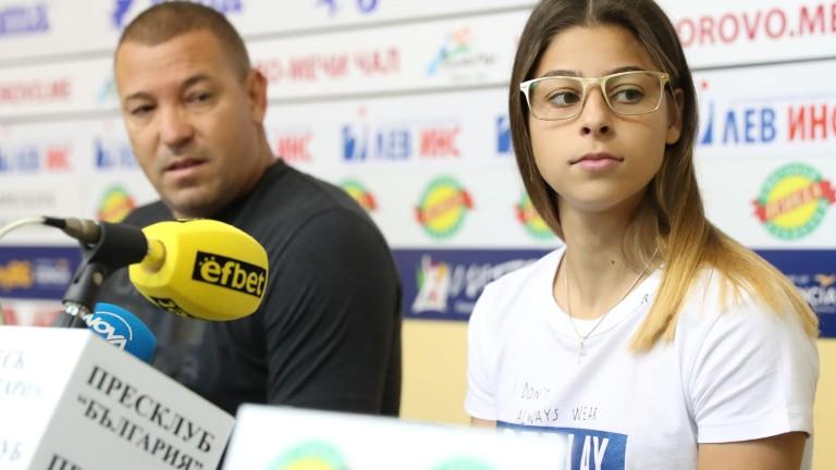 Александра Начева е спортист за месец юли в анкетата на